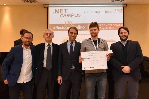 Future Digitale Experience Awards,il primo classificato Alessandro Busi (foto Schicchi)