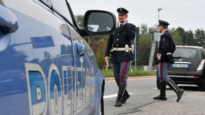 Intervenuta la Polizia Stradale