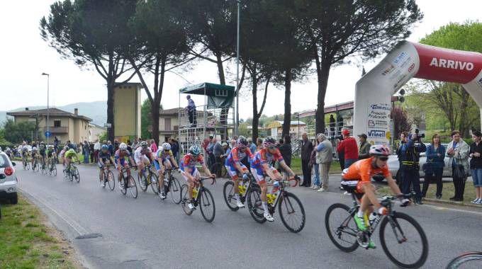 Ciclismo all'arrivo