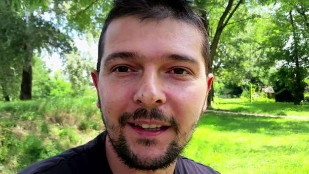 Un fotogramma del film: Emiliano Cribari