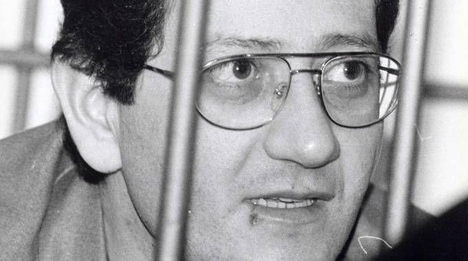 Uno Bianca, Fabio Savi al processo (foto Bove)