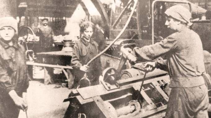 Lavoratori di inizio secolo