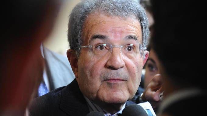 Romano Prodi (foto Ansa)