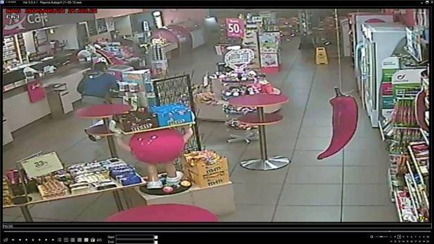 Le immagini delle videocamere di sorveglianza