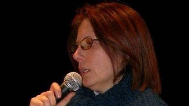 La scrittrice Francesca Padula