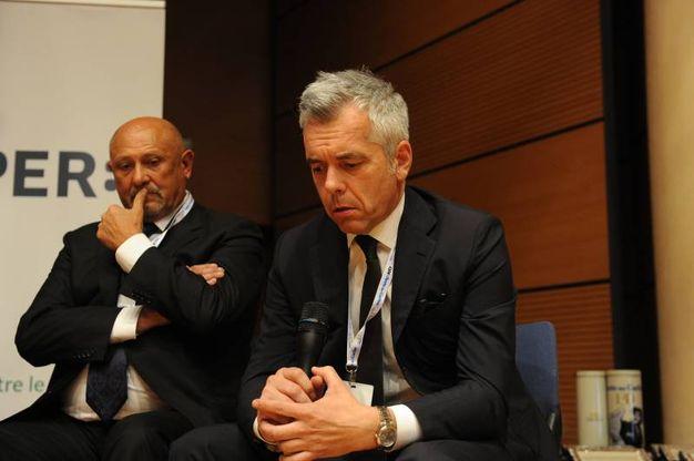 Lauro Giacobazzi presidente di Ceramica Rondine e consigliere di Confindustria Ceramica e Renzo Gibellini Ceo di Reflex & Allen Group