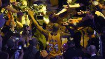 L'addio di Kobe Bryant