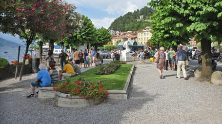 Estate da record per la presenza di turisti a Bellagio