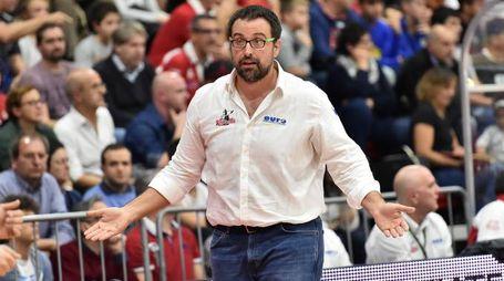 Il coach di Legnano, Mattia Ferrari