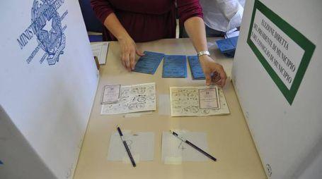 Elezioni amministrative (foto d'archivio Newpress)