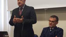 Il Prefetto Bruno Corda e il Questore Giuseppe De Angelis