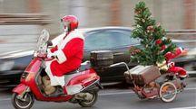 Babbo Natale dovrà pagare per riavere la sua Vespa