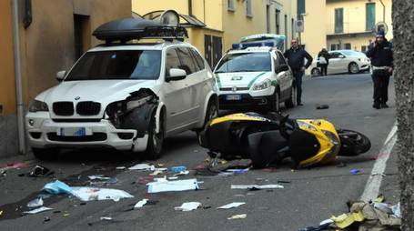 L'incidente mortale in via Casati