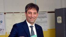 Il vicepresidente Fabrizio Sala al voto a Misinto