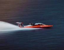 Il New Diesel Power Boat World Speed Record sul lago di Como