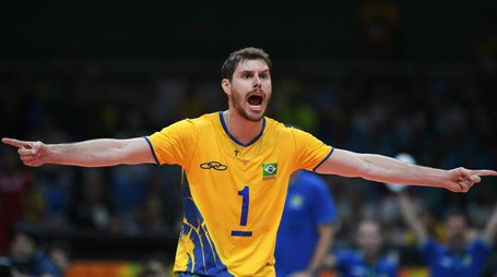 Modena Volley, Bruno Rezende (Afp)