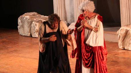 La trama di Tito Maccio Plauto in scena al Plautus Festival (Foto Ravaglia)