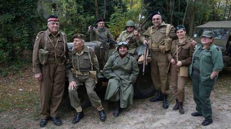 La rievocazione della Seconda Guerra Mondiale (foto Ravaglia)