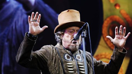 "Zucchero ""Sugar"" Fornaciari in concerto durante il Black Cat world tour"