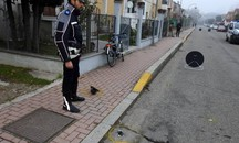 L'incidente è avvenuto in via Fratelli Rosselli ad Alfonsine (Scardovi)