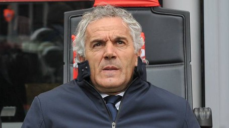 Roberto Donadoni in panchina