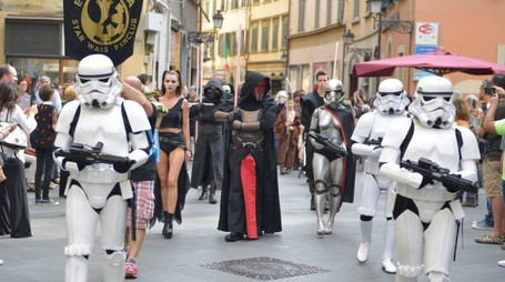 "I personaggi di ""Star Wars"" a San Giovanni"