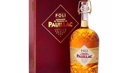 Una bottiglia di Poli Pauillac – Foto: Poli Distillerie