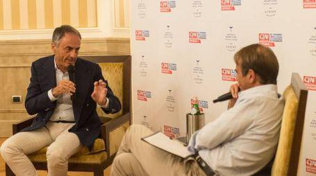 Cortina, Andrea Cangini intervista Nerio Alessandri, fondatore di Tecnogym