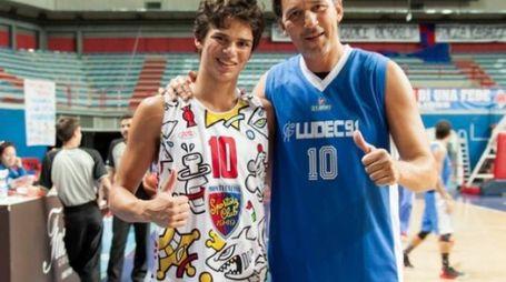 Mario Boni insieme al figlio Giacomo (foto Daniele Lenzi)