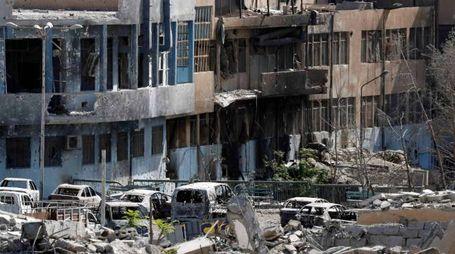 Devastazione a Raqqa (Reuters)
