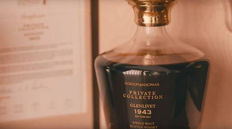 La bottiglia di Private Collection Glenlivet 1943 – Foto: Gordon & MacPhail