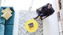 Vivere e lavorare in soli 58 metri quadrati!