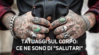 Tatuaggi, ecco quelli che giovano alla salute
