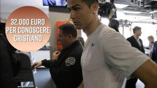 Pagheresti 32.000 euro per conoscere Cristiano?