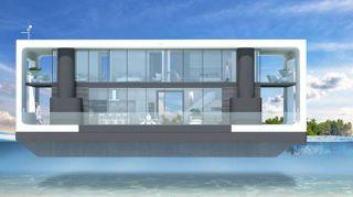 Ti piacerebbe avere una casa galleggiane super lusso?