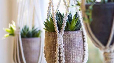 un nuovo progetto fai da te per appendere le piante