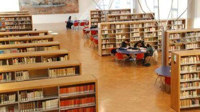 La biblioteca San Giorgio di Pistoia (Foto: Il Forum del Libro)