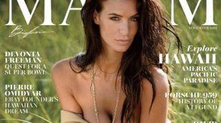 Jade Lagardére, mamma e bomba sexy. E' sulla copertina di Maxim