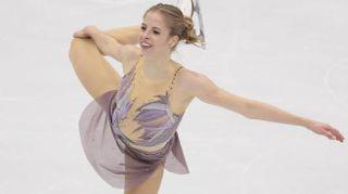 Carolina Kostner super al Rostelecom Cup