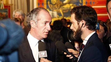 Il governatore del Veneto Luca Zaia (LaPresse)