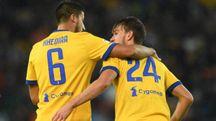 Khedira e Rugani, grandi protagonisti della robante vittoria sull'Udinese