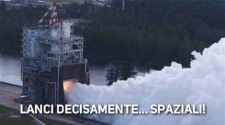 Razzo nello spazio: l'esperimento è della Nasa