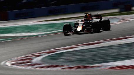 Gp Messico, Max Verstappen (foto Afp)