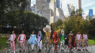Pirelli, Alice in bici a Central Park