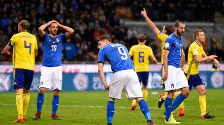 Italia-Svezia 0-0, azzurri fuori dai mondiali (Lapresse)
