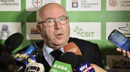 Il presidente della Figc Carlo Tavecchio (Ansa)