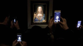Salvator Mundi di Leonardo venduto 450 mln dlr all'asta a NY