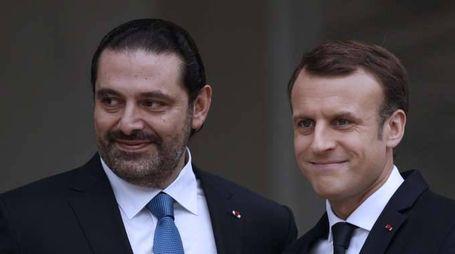 Libano: Hariri giunto all'Eliseo