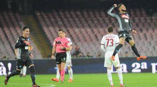 Napoli-Milan 2-1, Sarri archivia anche il Diavolo