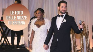 Le inedite nozze milionarie di Serena Williams